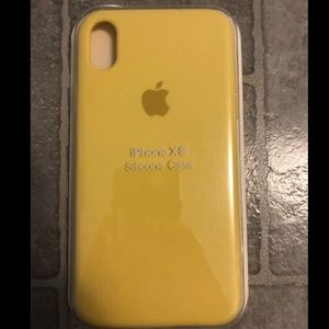 Other - iPhone XR silicone Case